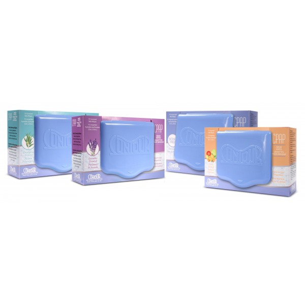 Lavender Scented Contour Mask Wipes
